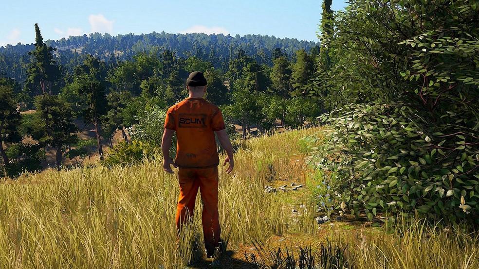 Em SCUM, o realismo é um dos pontos fortes do jogo (Foto: Divulgação/Devolver Digital)