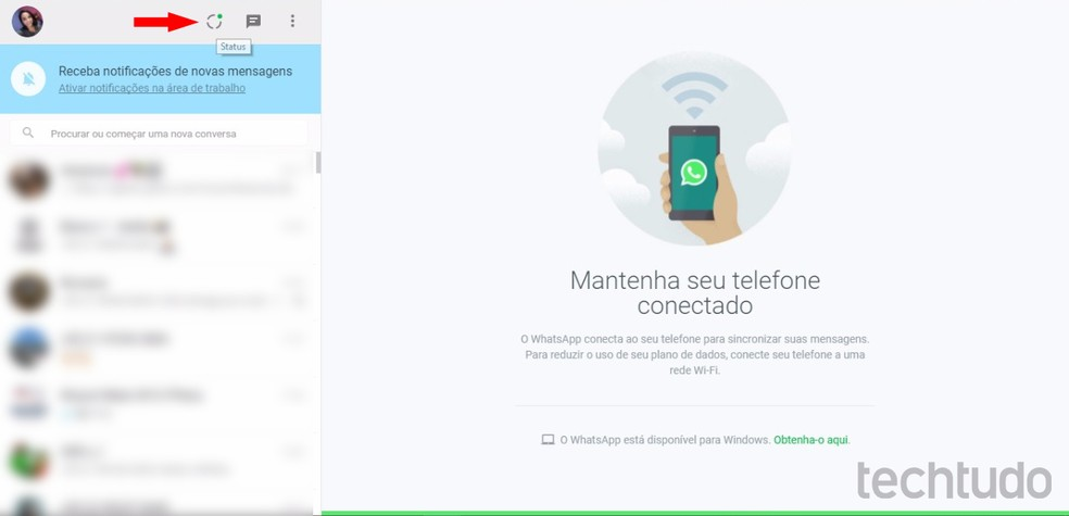 1 WhatsApp Web confirma chegada do Status no navegador para PC