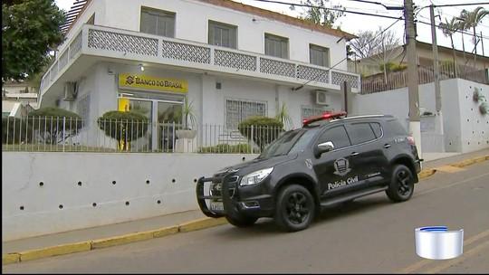 Quadrilha rouba agência bancária no centro de Lagoinha