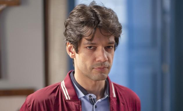 'Espelho da vida': Patrick Sampaio é Felipe (Foto: TV Globo)