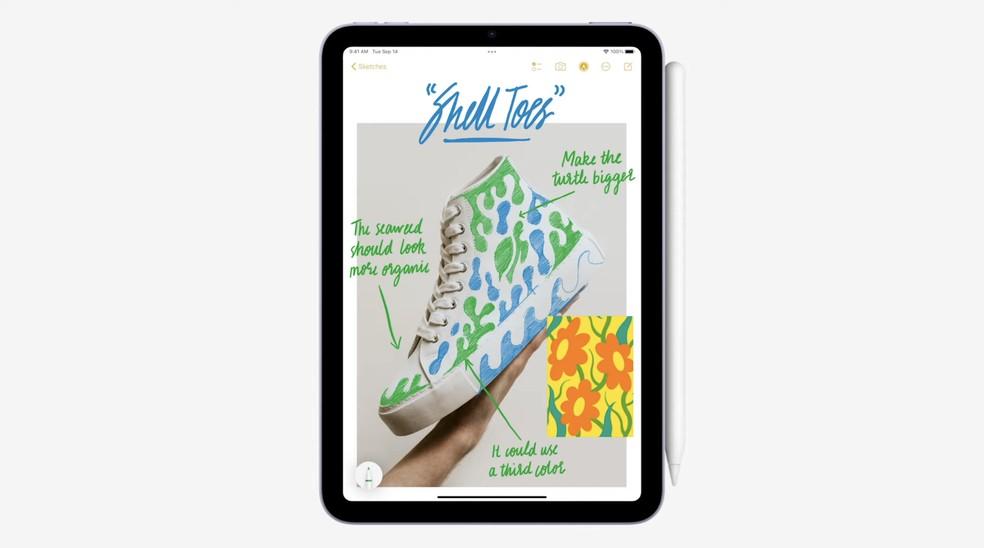 iPad Mini 2021 — Foto: Reprodução/Apple