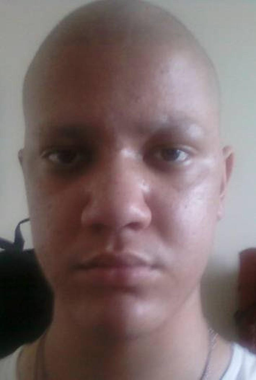 Cauê teve câncer aos 18 anos (Foto: Arquivo Pessoal/ Cauê Felici Muniz dos Santos)