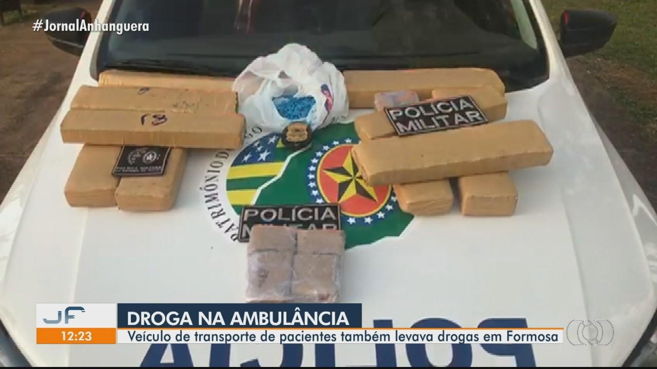 Servidor de Formosa é preso suspeito de usar ambulância para transportar drogas