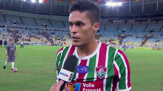 """Reginaldo fala da importância de marcar contra o Nova Iguaçu: """"Foi bom"""""""