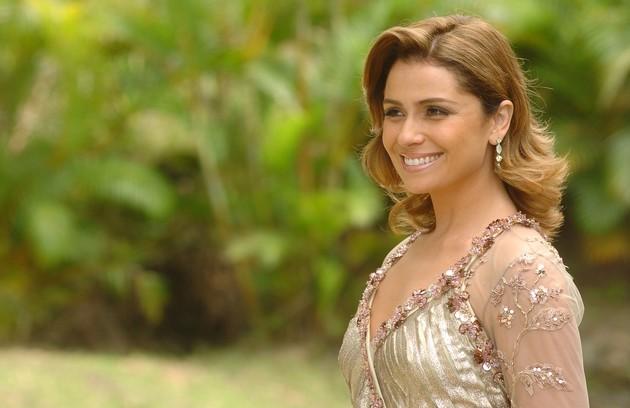 No mesmo ano, a atriz foi protagonista de 'Sete pecados', de Walcyr Carrasco, na qual interpretou a doceira Clarice (Foto: Márcio de Souza/TV Globo)