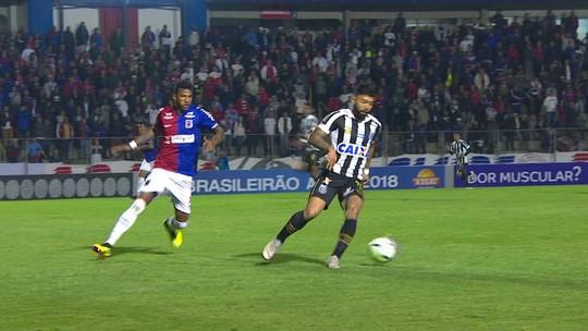 Paraná x Santos - Campeonato Brasileiro 2018 - globoesporte.com