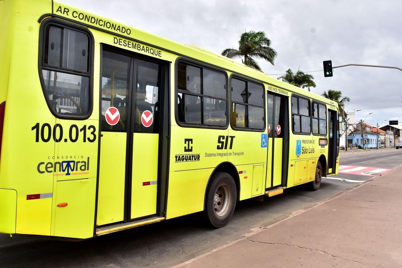 Ônibus vão circular com 100% da frota no domingo de eleição em São Luís