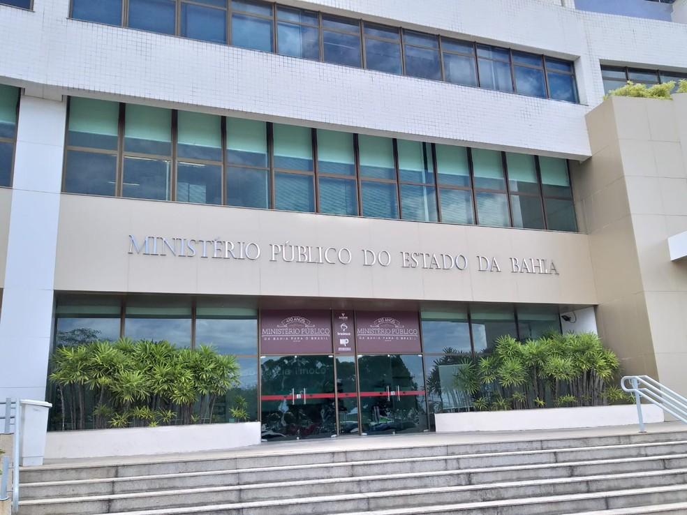 Sede do Ministério Público da Bahia (MP-BA), em Salvador  — Foto: Alan Oliveira/G1