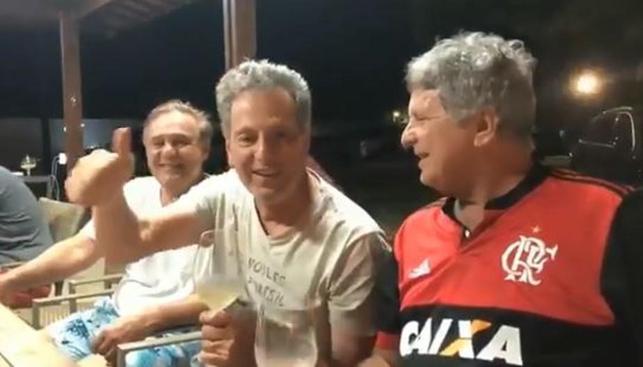 Em vídeo na web, Landim diz que Flamengo vai ganhar tudo em 2019: