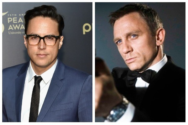 Cary Joji Fukunaga e Daniel Craig (como James Bond) (Foto: Getty Images / Divulgação)