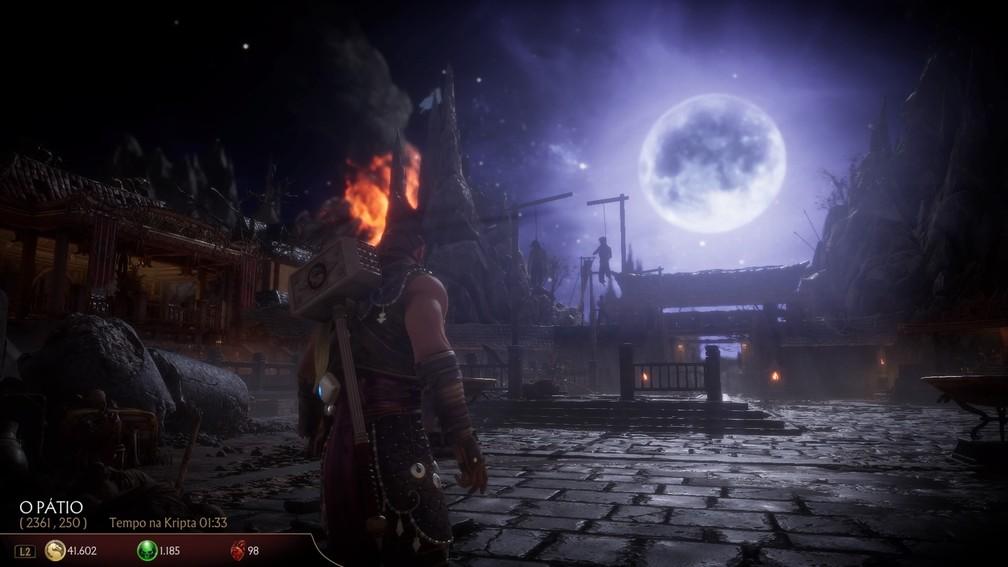 Modo Kripta de Mortal Kombat 11 — Foto: Reprodução / TechTudo