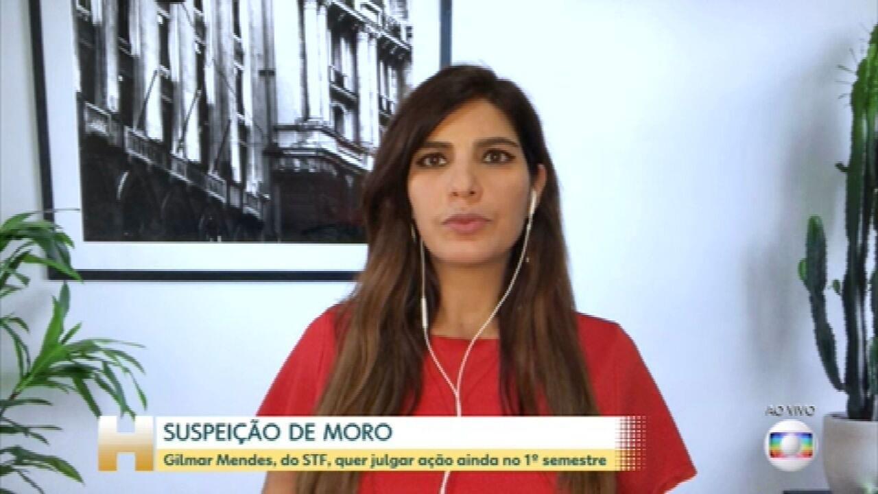Gilmar Mendes: suspeição de Moro pode ser julgada no 1º semestre