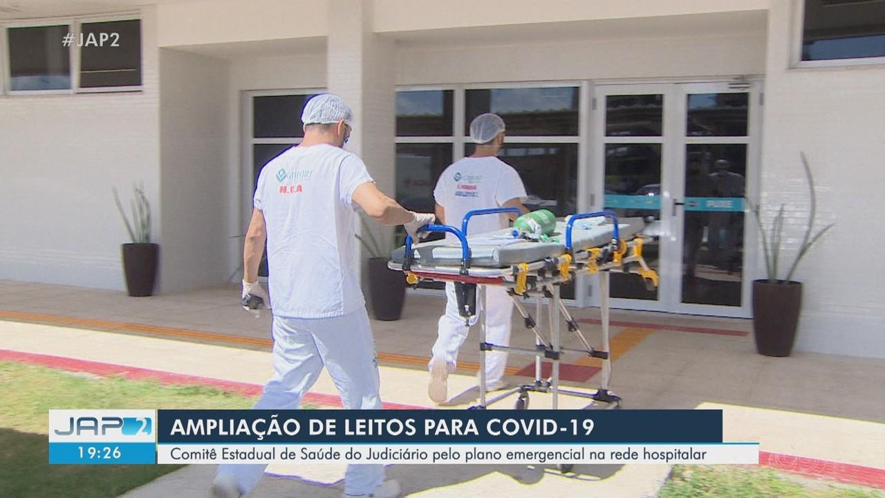 Comitê de Saúde do Judiciário pede plano emergencial para Covid-19 na rede hospitalar