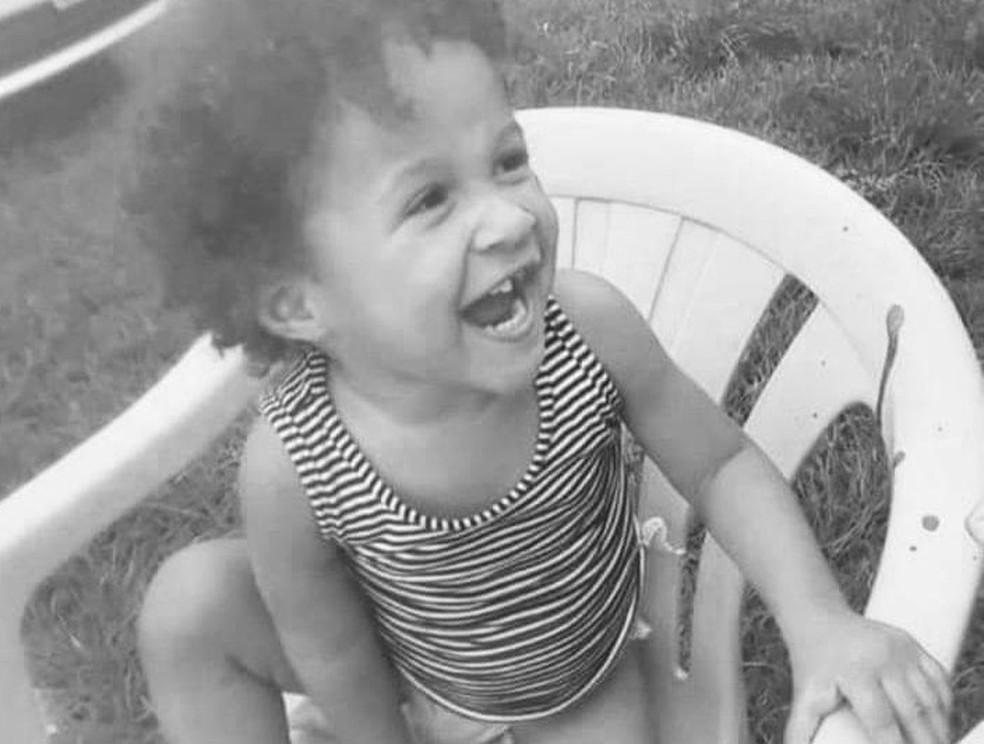 Lauanny Hester Rodrigues, de 2 anos, foi espancada até a morte em Ariquemes (RO) — Foto: Reprodução/ Redes Sociais