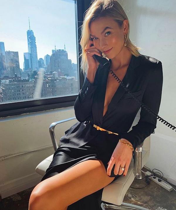 A modelo Karlie Kloss (Foto: Instagram)