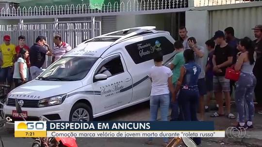 Polícia Civil tenta identificar dono da arma usada por adolescente que morreu ao jogar roleta russa em Anicuns