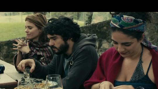 Veja a entrevista com alguns atores do filme 'Entre nós'