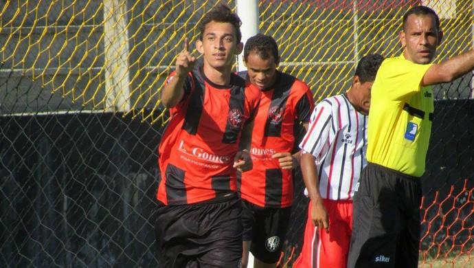 RN - André atacante Atlético Potengi (Foto: Rhuan Carlos/Divulgação)