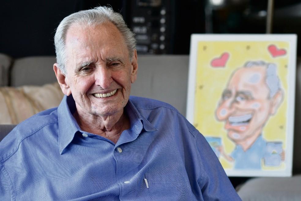 Presidente da Rede Gazeta, Cariê Lindenberg morreu aos 85 anos — Foto: Divulgação/Rede Gazeta
