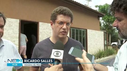 Ministro do Meio Ambiente chega a Fernando de Noronha para vistoriar Parque Marinho