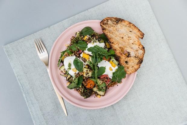 Salada de vegetais para um inverno saudável (Foto: Divulgação)