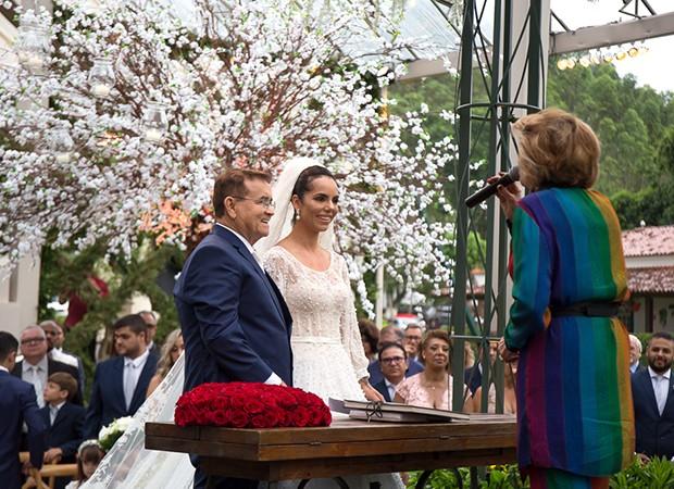 Casamento Monique Elias e Itamar Serpa (Foto: Marcelo Bruno/ Divulgação)