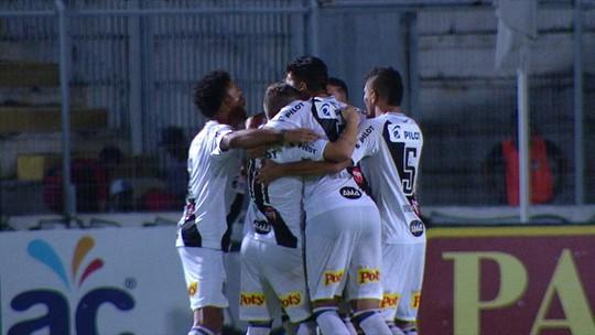 Poça d´água ajuda Diego Renan a fazer o segundo gol da Ponte Preta no dérbi 193; assista ao vídeo