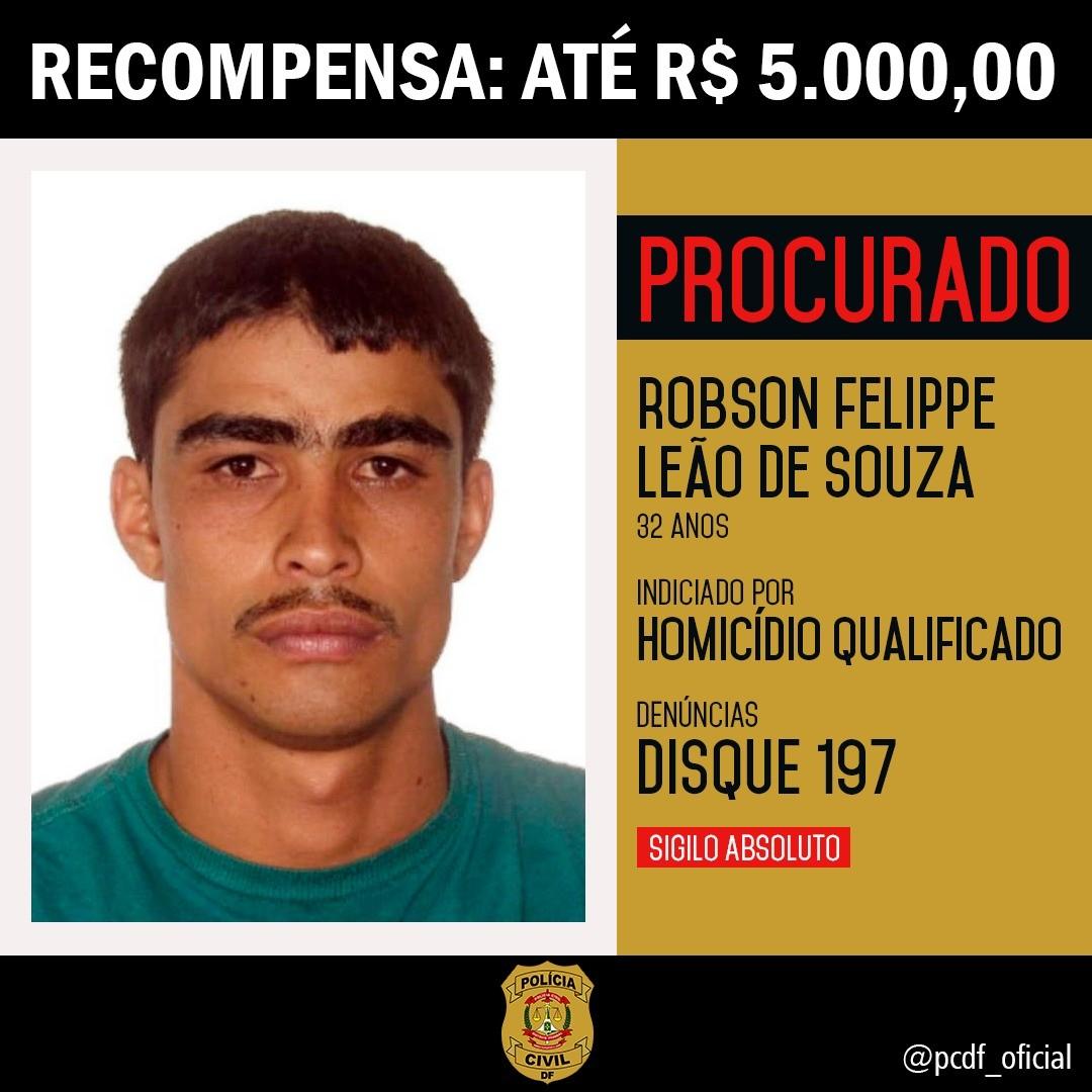 Após oferecer recompensa de R$ 5 mil, Polícia Civil prende suspeito de assassinato em posto de combustíveis no DF