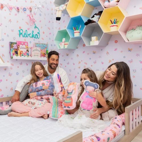 Victor Pecoraro renova quarto da filha caçula em estilo montessoriano (Foto: Divulgação)