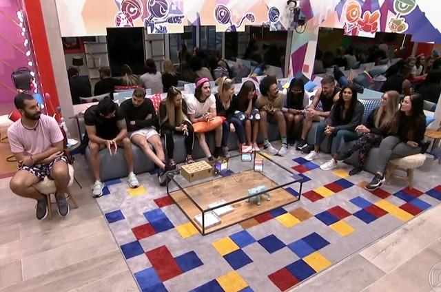 Os participantes do 'BBB' 21 (Foto: Reprodução)