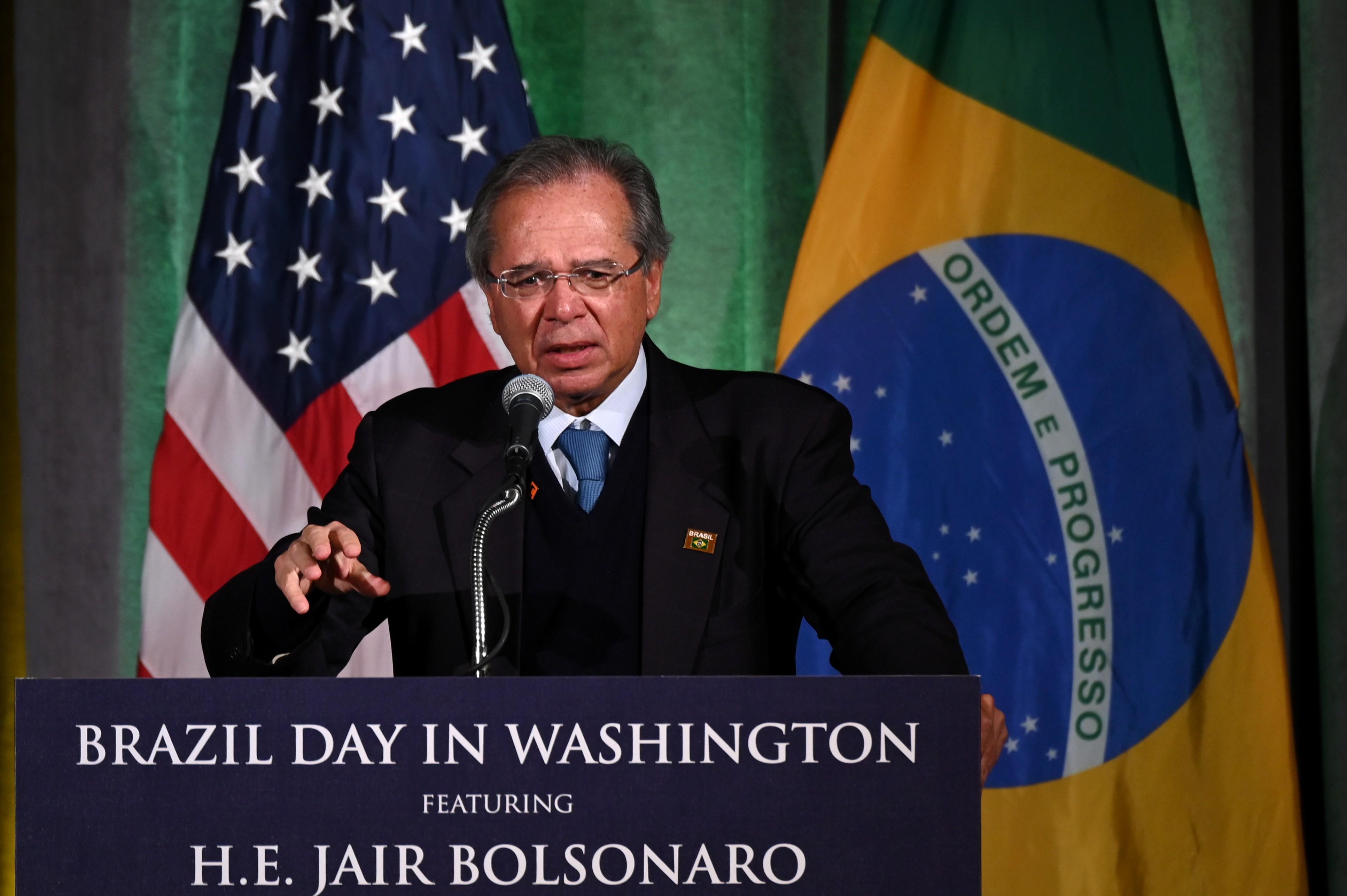 Em discurso nos EUA, Guedes defendeabertura econômica e redução do Estado