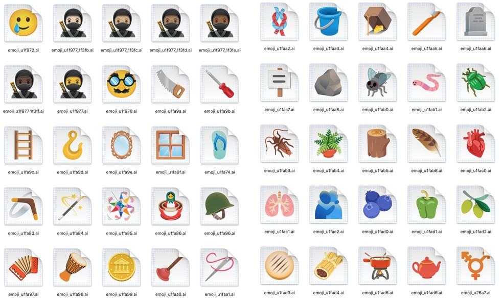 Novos emojis chegarão ao Android 11 — Foto: Reprodução/9to5Google