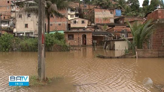 Salvador registra dia mais chuvoso do ano