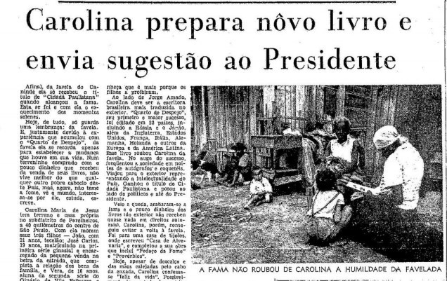 Página do GLOBO de 11 de dezembro de 1969