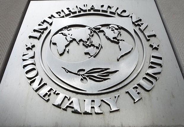 Fachada da sede do Fundo Monetário Internacional (FMI) em Nova York (Foto: Getty Images)