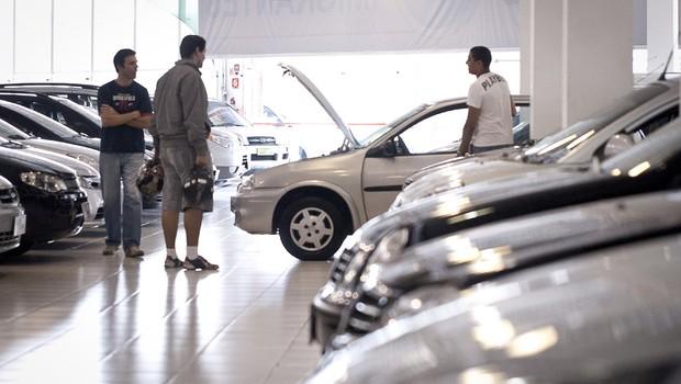 Vendas de veículos novos ; automóveis ; concessionária de carros ; indústria automotiva ;  (Foto: Marcelo Camargo/Agência Brasil)