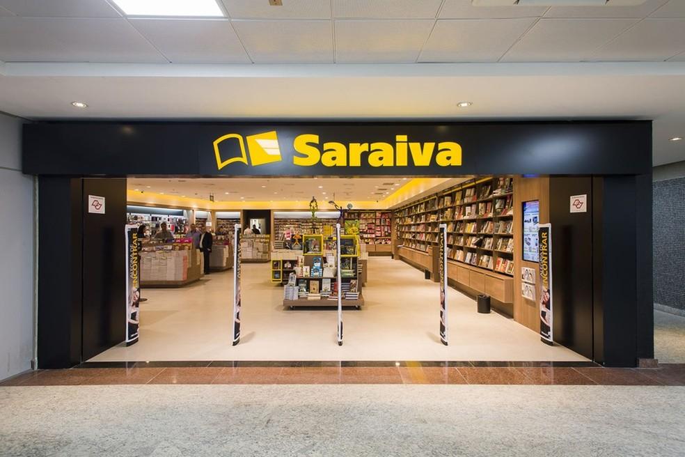 Rede de livrarias Saraiva faz pedido de recuperação judicial — Foto: Divulgação