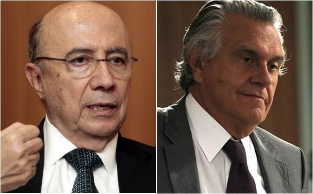 Henrique Meirelles e Ronaldo Caiado