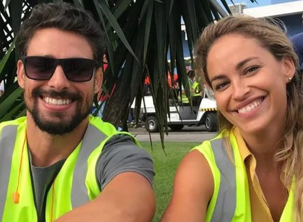 Cauã Reymond e Tóia Ferraz (Foto: Arquivo pessoal)