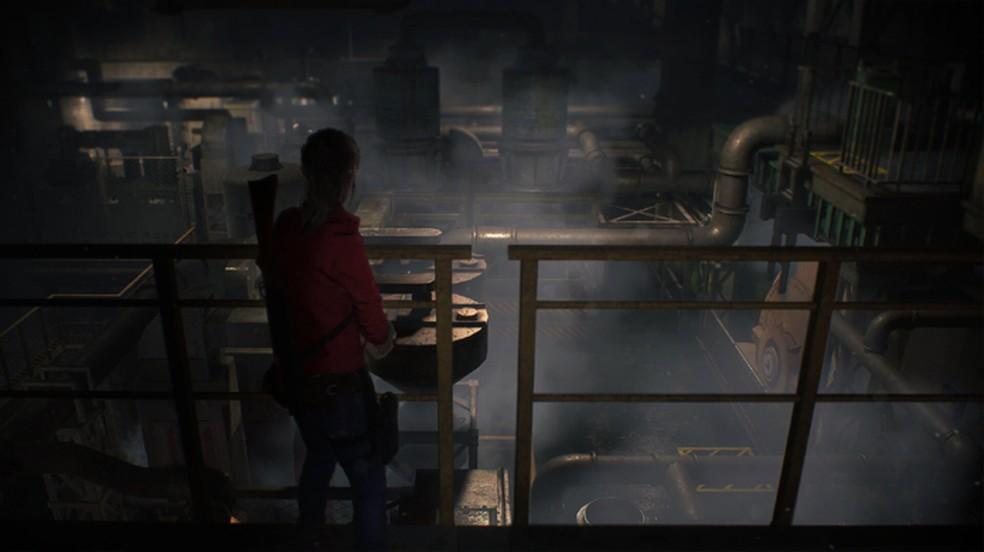 O remake de Resident Evil 2 adotará a câmera por cima do ombro nos moldes do clássico Resident Evil 4 (Foto: Reprodução/DSO Gaming)