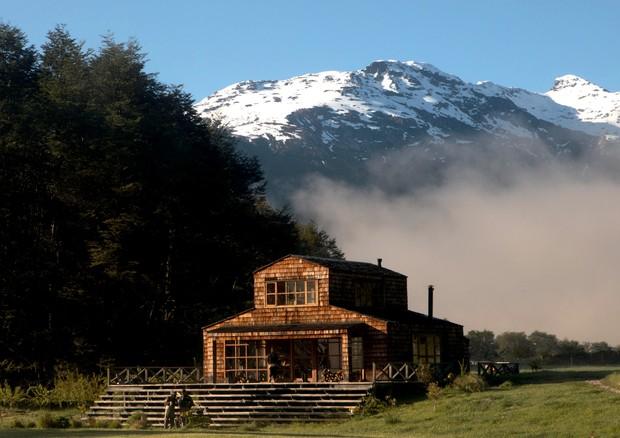 Sede da fazenda PATA, onde os moradores e hóspedes se encontram para as refeições, em clique de Layla Motta (Foto: Layla Motta )