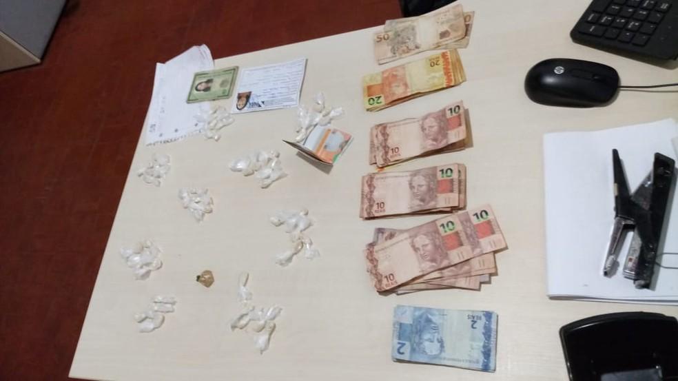 """Material apreendido durante a Operação """"Retorno"""", da Polícia Civil — Foto: Divulgação/NAI"""