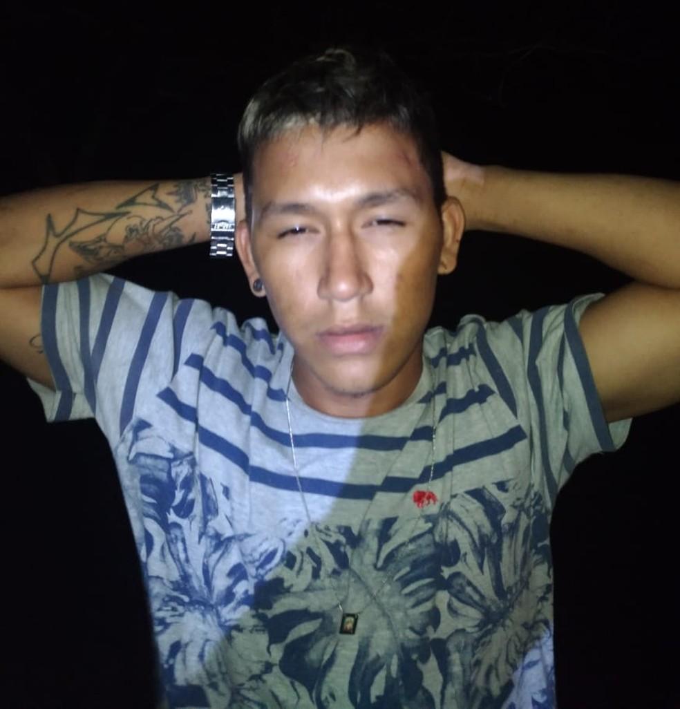 Segundo a polícia, Wallison Silva Araújo tem no histórico vários assassinatos cometidos na cidade de Araioses. (Foto: Divulgação/Polícia Civil )