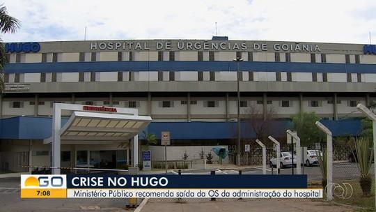 MP pede que Secretaria de Saúde rompa contrato com Organização Social que administra o Hugo
