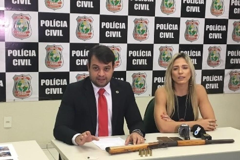 Namorada atraiu garoto até a dupla que o matou, diz polícia (Foto: SSPDS/Divulgação)