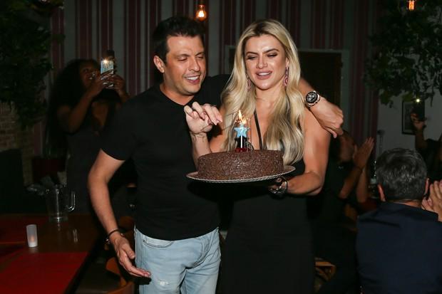 Wellington Muniz e Mirella Santos (Foto: Manuela Scarpa / Brazil News)