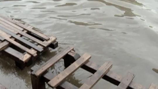 Vila Sônia volta a ficar alagada, em Itaquaquecetuba, após chuvas