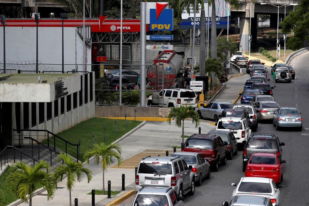 Venezuelanos enfrentam novo dia de apagão — Foto: Reuters