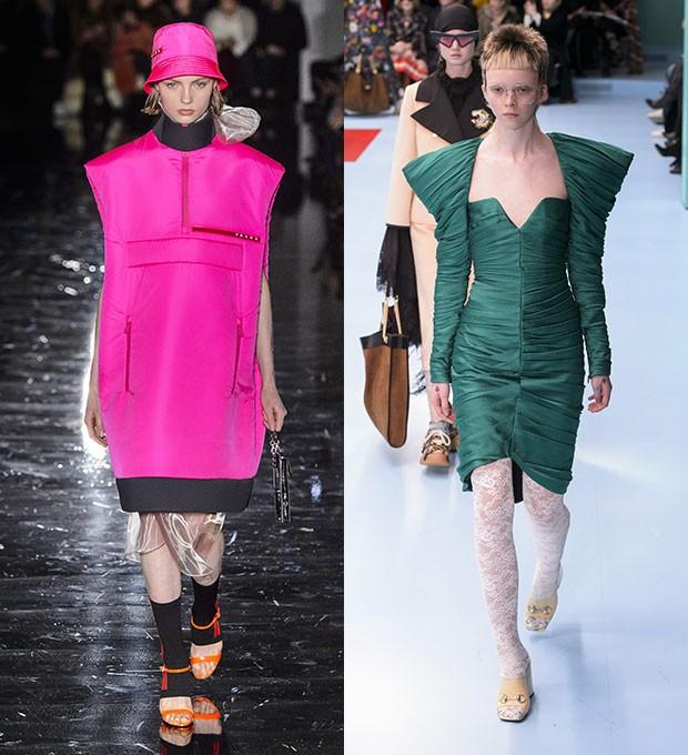 Prada e Gucci (Foto: Imaxtree)
