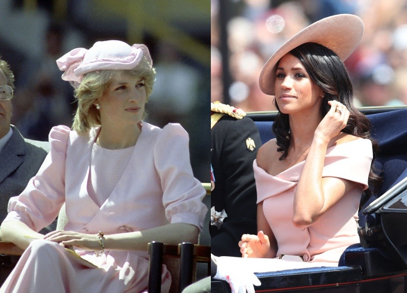 Diana e Meghan Markle (Foto: Getty Images)